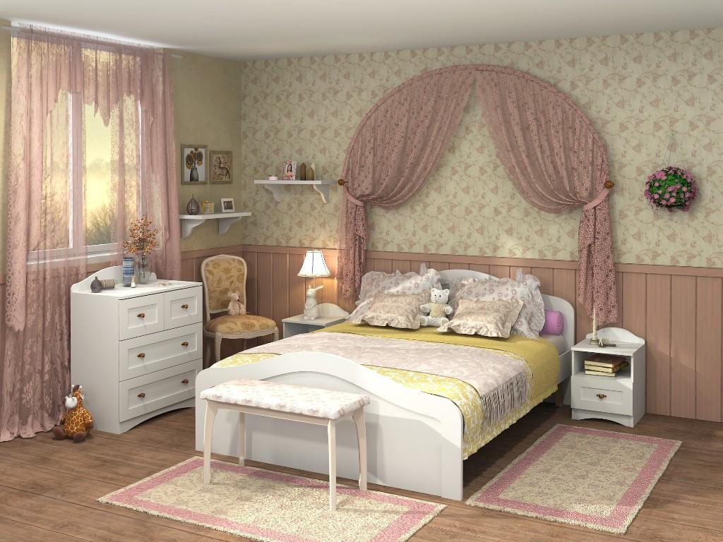 Набор мебели «Прованс» Белый